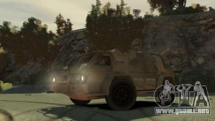 """GAZ 3937 Vodnik"""" para GTA 4"""