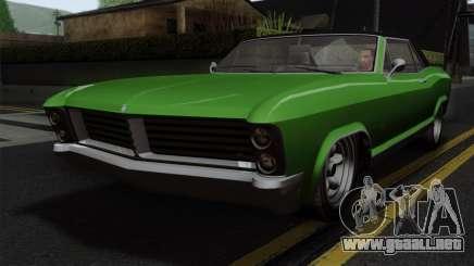 GTA 5 Albany Buccaneer IVF para GTA San Andreas
