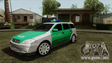 Opel Astra G 1999 Police para GTA San Andreas