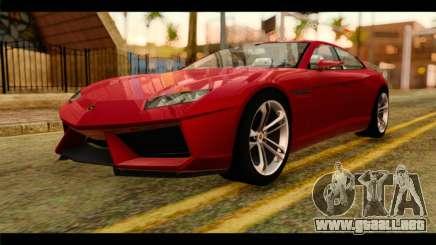 Lamborghini Estoque PJ para GTA San Andreas
