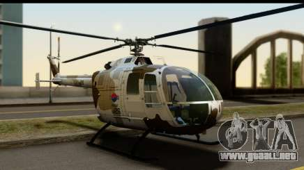 MBB Bo-105 Korean Army para GTA San Andreas