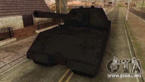 Panzerkampfwagen VIII Maus para GTA San Andreas vista hacia atrás