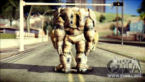 Hulkbuster Iron Man v2 para GTA San Andreas segunda pantalla