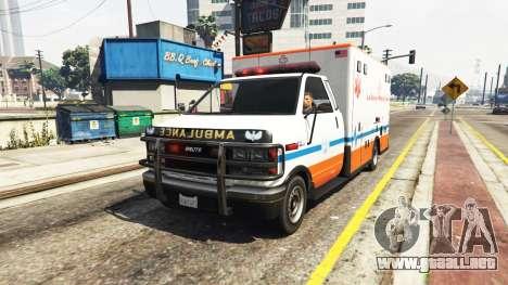 GTA 5 Ambulancia v0.7.2