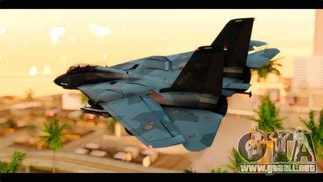 Grumman F-14D SuperTomcat Metal Gear Ray para GTA San Andreas left