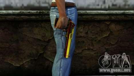 Desert Eagle España para GTA San Andreas tercera pantalla