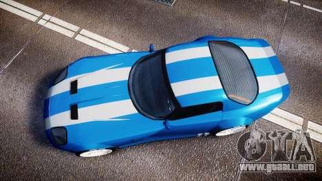 Bravado Banshee Double Stripe para GTA 4 visión correcta