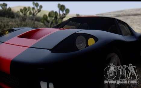 Bullet PFR v1.1 HD para la vista superior GTA San Andreas