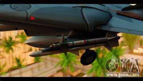 Grumman F-14D SuperTomcat Metal Gear Ray para la visión correcta GTA San Andreas