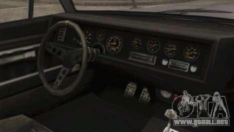 GTA 5 Declasse Stallion IVF para la visión correcta GTA San Andreas