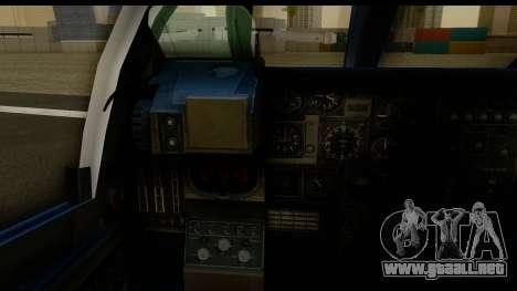 Northrop Grumman EA-6B ISAF para visión interna GTA San Andreas