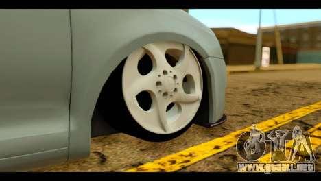 Volkswagen Bora para GTA San Andreas vista posterior izquierda