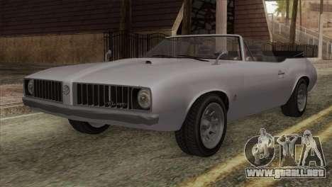 GTA 5 Declasse Stallion IVF para GTA San Andreas