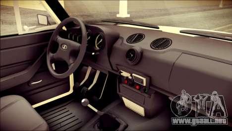 VAZ 2106 Stoke para la visión correcta GTA San Andreas