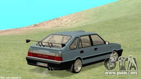 Daewoo-FSO Polonez Caro Además de ABC 1999 para visión interna GTA San Andreas