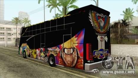 Bus Thailand para GTA San Andreas left
