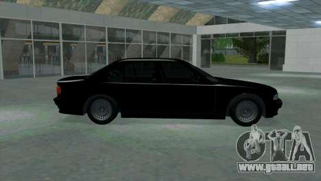 BMW 750i e38 para GTA San Andreas left