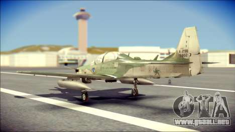Embraer EMB-314 Super Tucano E para GTA San Andreas left