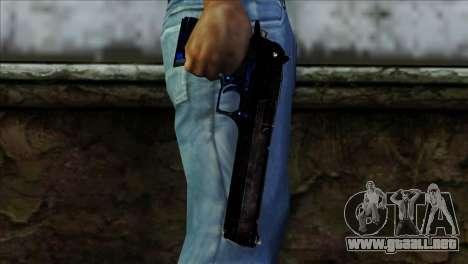 Desert Eagle Estonia para GTA San Andreas tercera pantalla
