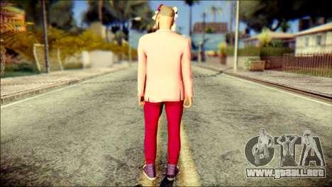 Skin Kawaiis GTA V Online v2 para GTA San Andreas segunda pantalla