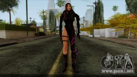 Jessica Sherawat from Resident Evil Revelations para GTA San Andreas