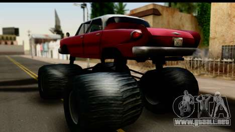 Monster Glendale para GTA San Andreas left