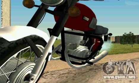 IZH Planeta-4 para la visión correcta GTA San Andreas