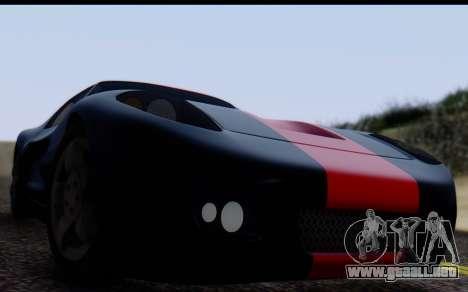 Bullet PFR v1.1 HD para la visión correcta GTA San Andreas
