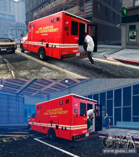 GTA 5 Ambulancia v0.7.2 tercera captura de pantalla