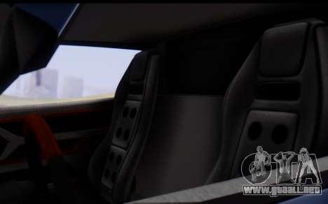 Bullet PFR v1.1 HD para vista inferior GTA San Andreas