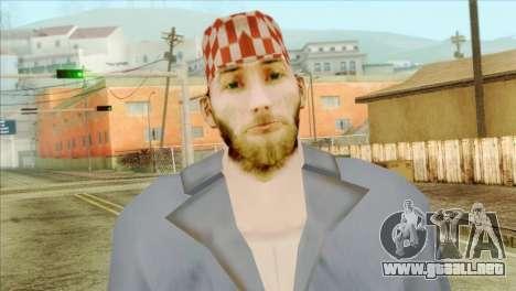 Mecánico barbudo para GTA San Andreas tercera pantalla
