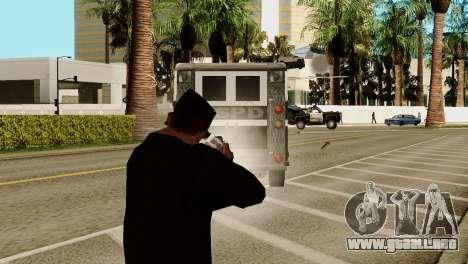 Transporte V2 en lugar de balas para GTA San Andreas