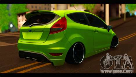 Ford Fiesta para GTA San Andreas left