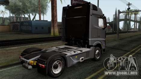 Mercedes-Benz Actros MP4 Euro 6 IVF para GTA San Andreas left