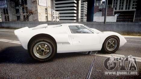 Ford GT40 Mk2 1966 para GTA 4 left