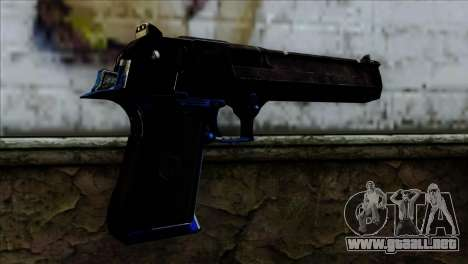 Desert Eagle Estonia para GTA San Andreas segunda pantalla