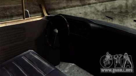 Volkswagen T2 Bob Marley para la visión correcta GTA San Andreas