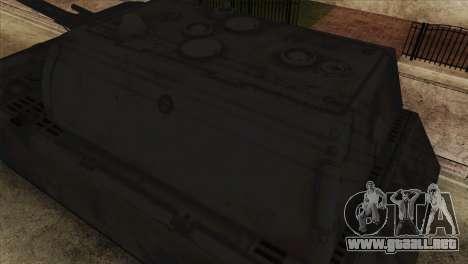 Panzerkampfwagen VIII Maus para la visión correcta GTA San Andreas