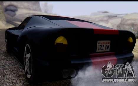 Bullet PFR v1.1 HD para visión interna GTA San Andreas