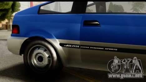 GTA 5 Dinka Blista Compact IVF para la visión correcta GTA San Andreas