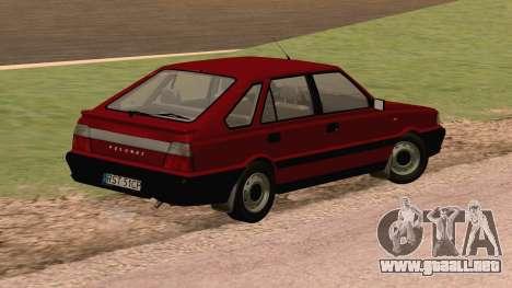 Daewoo-FSO Polonez Caro Además de ABC 1999 para GTA San Andreas vista posterior izquierda