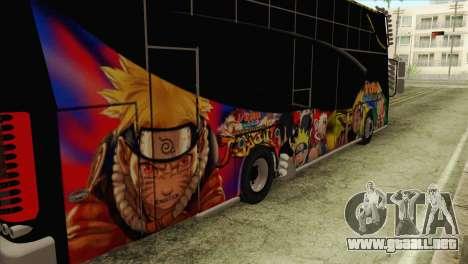 Bus Thailand para GTA San Andreas vista hacia atrás