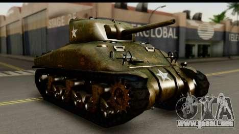 M4A1 Sherman First in Bastogne para GTA San Andreas