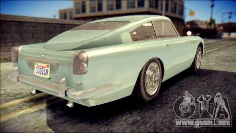 GTA 5 Dewbauchee JB 700 IVF para GTA San Andreas left