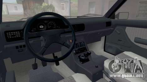 Daewoo-FSO Polonez Caro Además de ABC 1999 para vista inferior GTA San Andreas