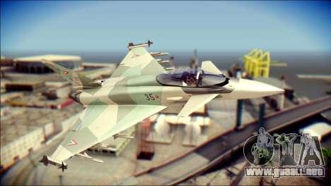 EuroFighter Typhoon 2000 Hungarian Air Force para GTA San Andreas