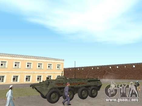 BTR 80 Frente para GTA San Andreas left