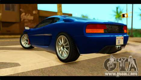 GTA 5 Grotti Turismo para GTA San Andreas left