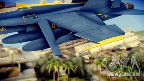 FA-18D Hornet NASA para la visión correcta GTA San Andreas