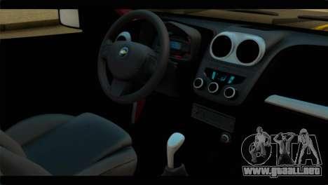 Chevrolet Celta VHC 1.0 para la visión correcta GTA San Andreas